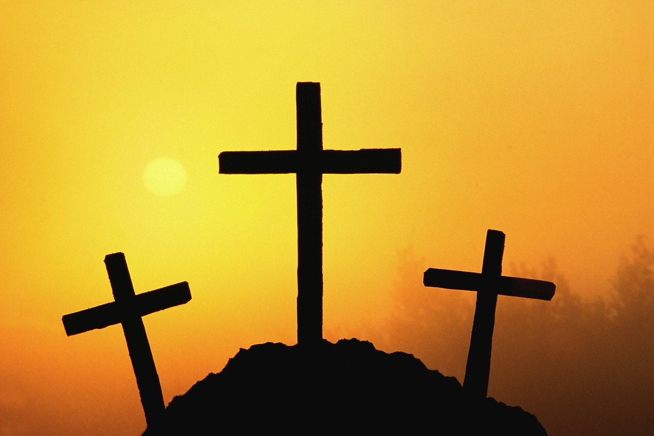 The easter symbol faithbooknz silhouettes of three crosses buycottarizona Images
