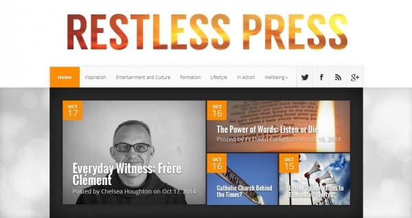 restless press screenshot